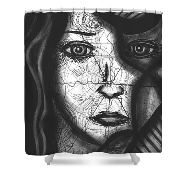 Illumination of Self Shower Curtain by Daina White