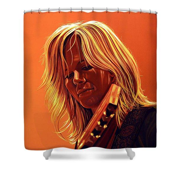 Ilse DeLange Shower Curtain by Paul  Meijering
