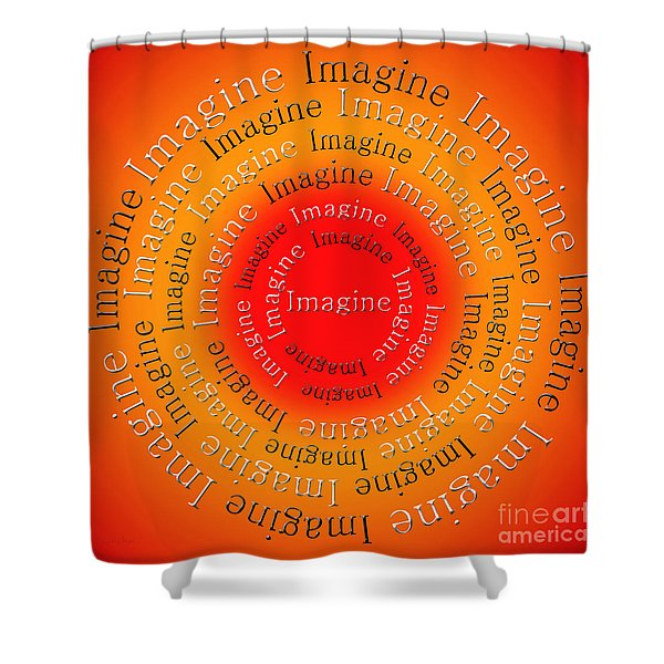 Imagine 5 Shower Curtain by Andee Design