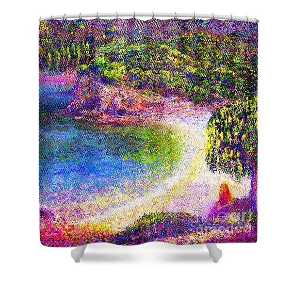 Imagine Shower Curtain by Jane Small