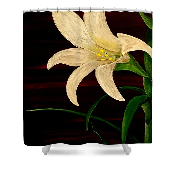 In Bloom Shower Curtain by Mark Moore