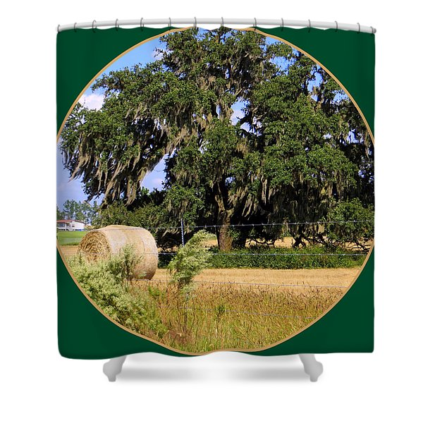 In the Country Shower Curtain by Dorothy Menera