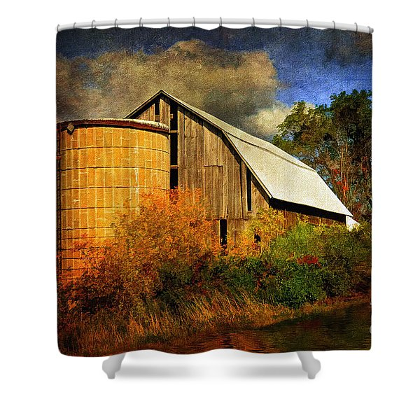 In The Gloaming Shower Curtain by Lois Bryan