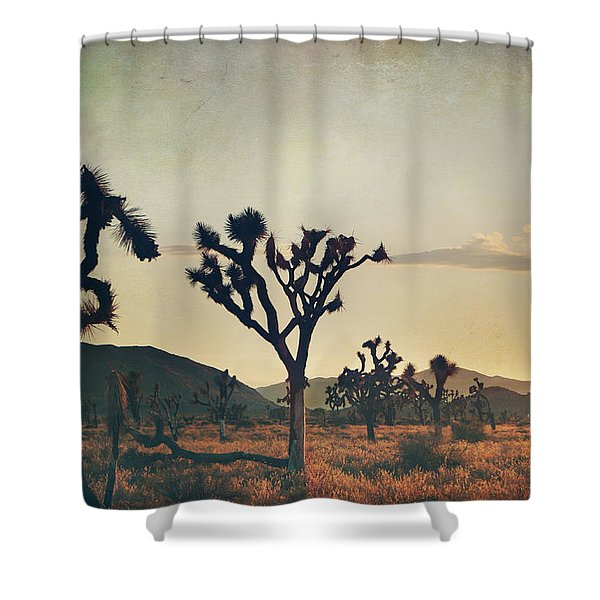 In Your Arms as the Sun Goes Down Shower Curtain by Laurie Search