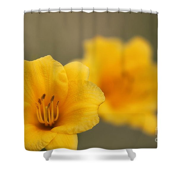 In Your Image Shower Curtain by Jennifer Doll