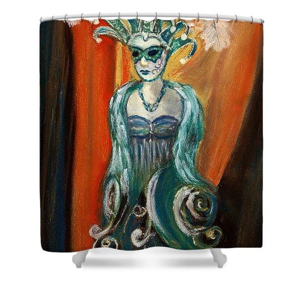Incognito Shower Curtain by Anastasiya Malakhova