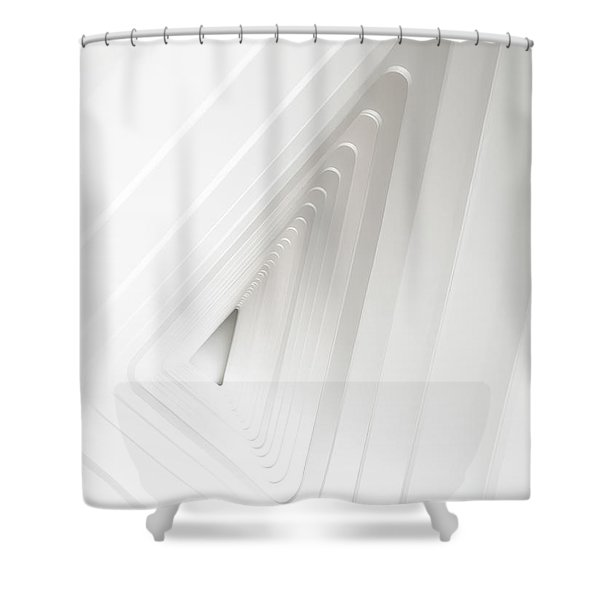 Infinite Arches Shower Curtain by Scott Norris