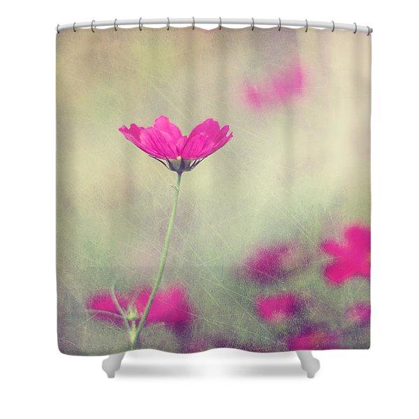 Ingrid's Garden Shower Curtain by Amy Tyler