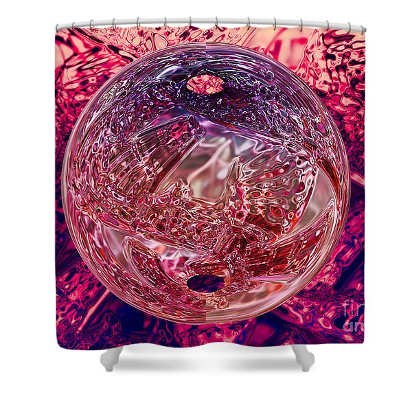 Inside Out Shower Curtain by Mo T