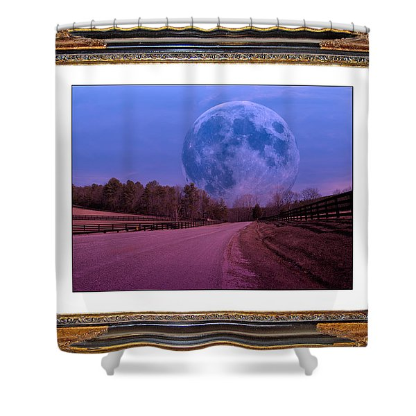 Inspiration in the Night Shower Curtain by Betsy C  Knapp