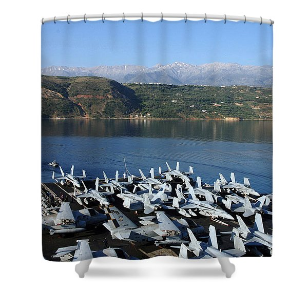 Into Port Shower Curtain by Mountain Dreams