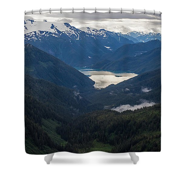 Into The Wild Shower Curtain by Mike Reid