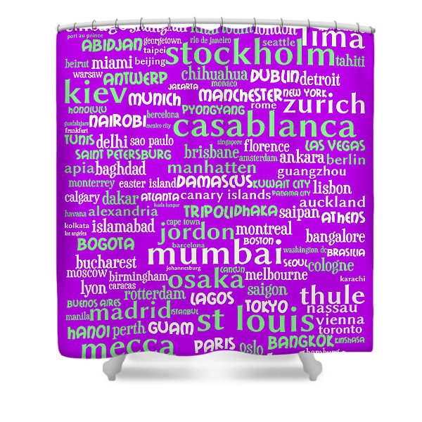 Intransit 20130625p60 Shower Curtain by Wingsdomain Art and Photography