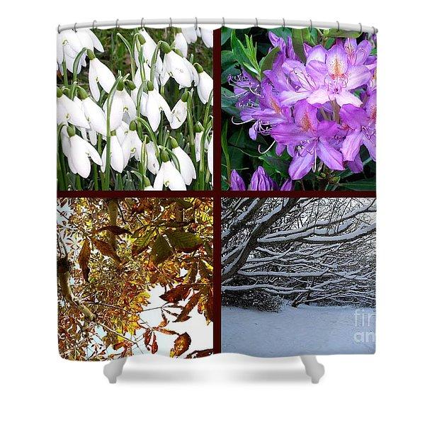 Irish Seasons Shower Curtain by Patrick J Murphy