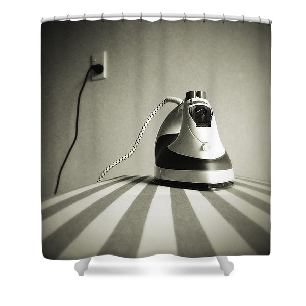 Iron Shower Curtain by Les Cunliffe