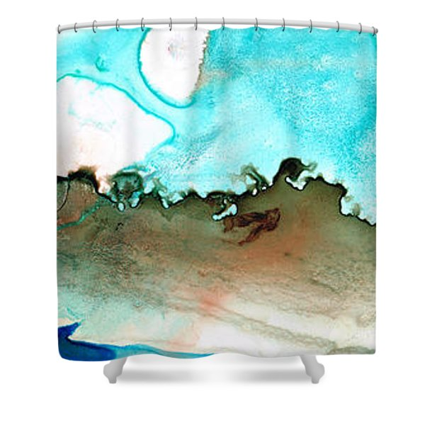 Island of Hope Shower Curtain by Sharon Cummings