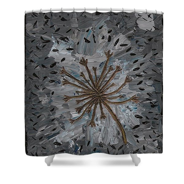 Isolation Vacuus Vos Shower Curtain by Vicki Maheu