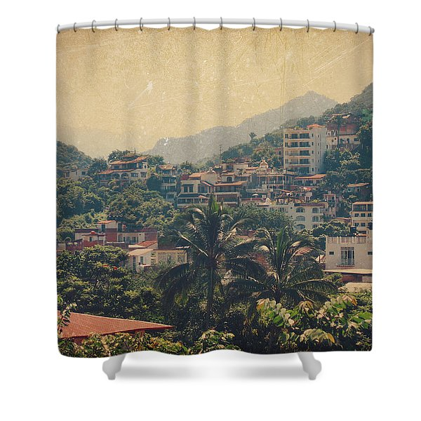 It Was Years Ago Shower Curtain by Laurie Search