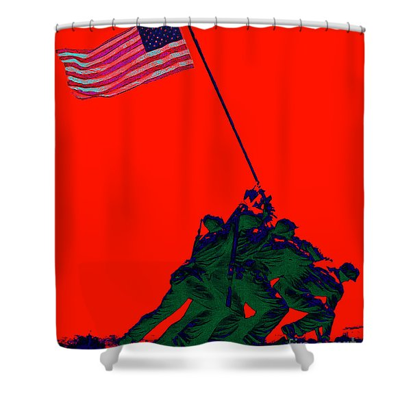 Iwo Jima 20130210p65 Shower Curtain by Wingsdomain Art and Photography