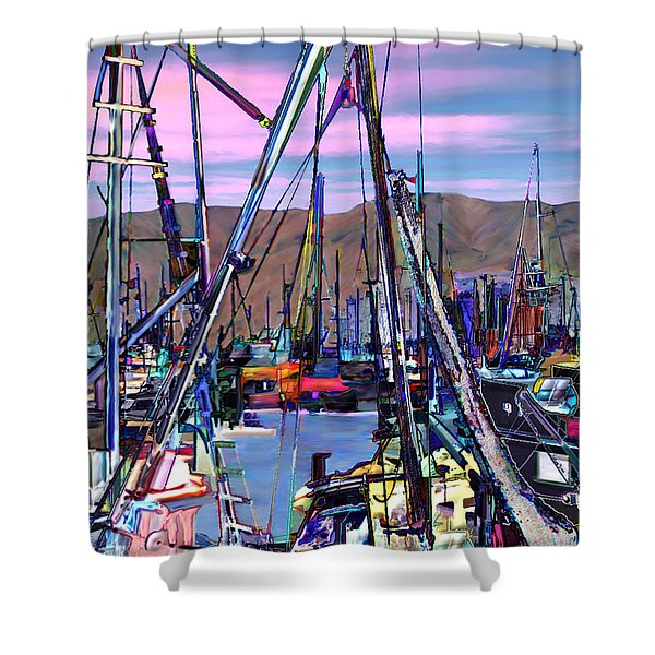 Jammin at twilight Shower Curtain by Kurt Van Wagner