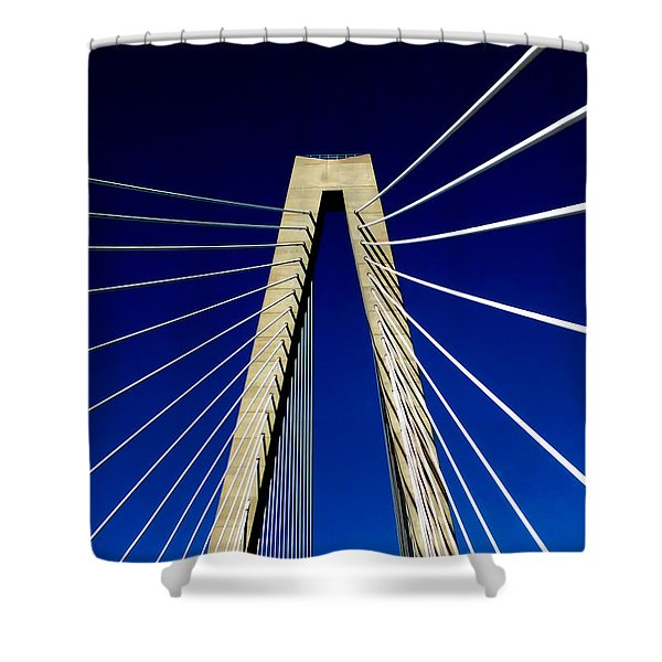 Jazz Of Charleston Shower Curtain by Karen Wiles