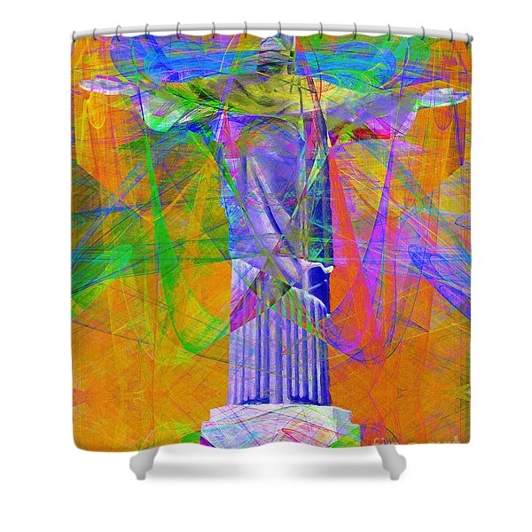 Jesus Christ Superstar 20130617 Shower Curtain by Wingsdomain Art and Photography
