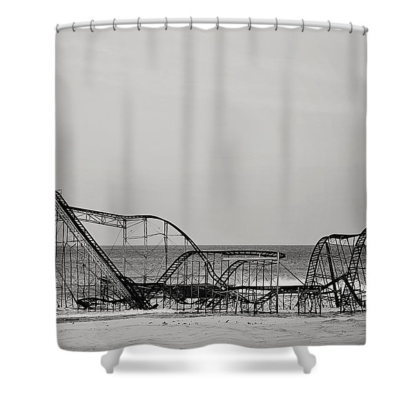 Jet Star  Shower Curtain by Terry DeLuco