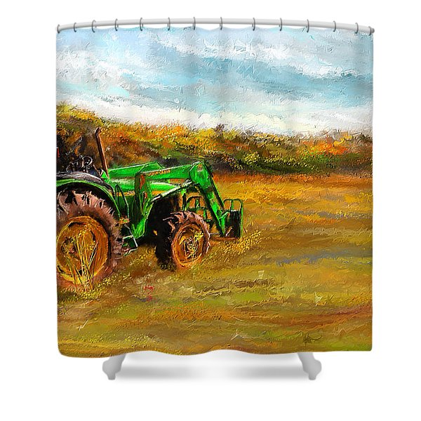 Country Life Shower Curtains For Sale