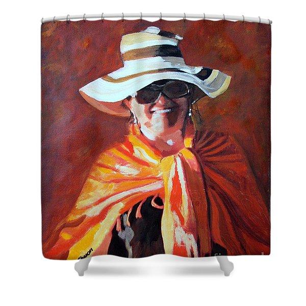Jolanta By Sharon Burger Shower Curtain by Jolanta Anna Karolska