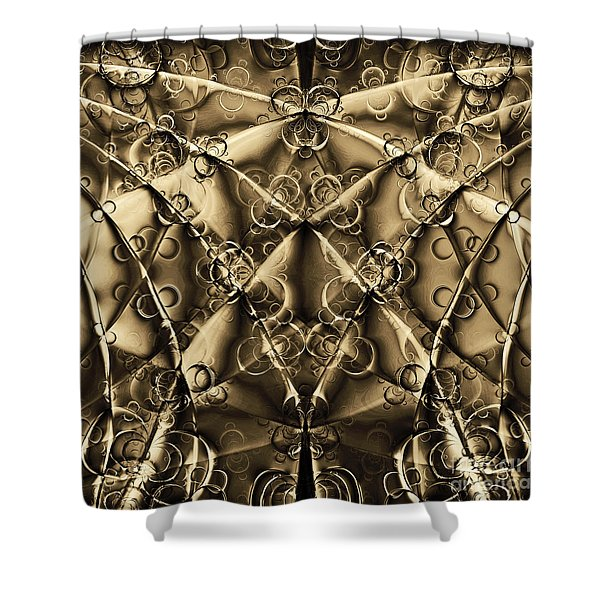 Journey 20130511v2 square Shower Curtain by Wingsdomain Art and Photography