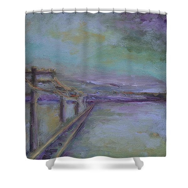 Journey Shower Curtain by Mary Wolf
