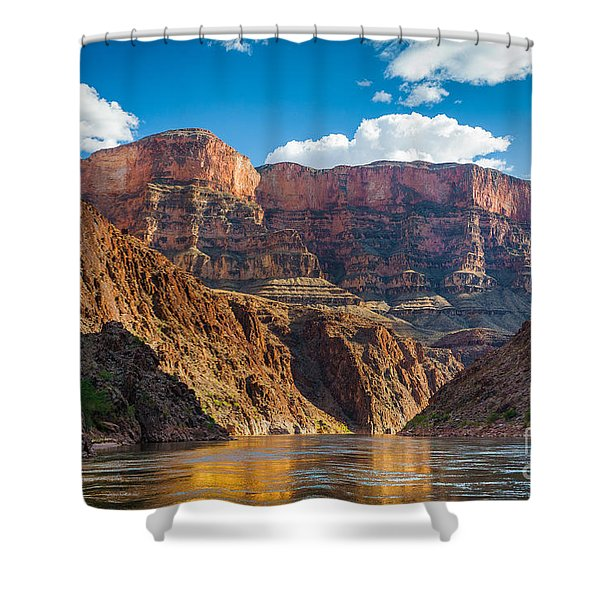 Journey Through The Grand Canyon Shower Curtain by Inge Johnsson