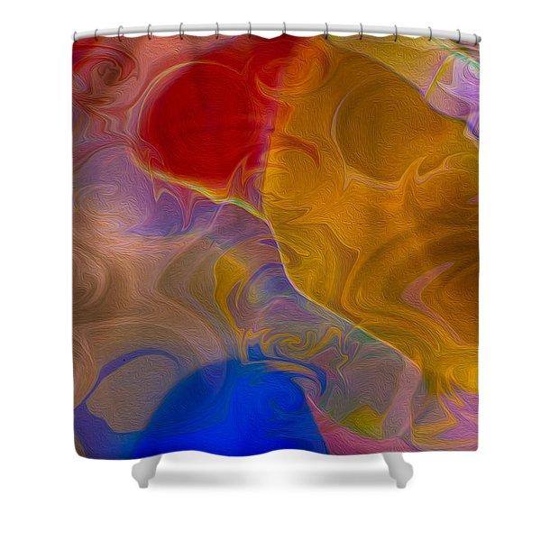 Joyful Sorrow Shower Curtain by Omaste Witkowski