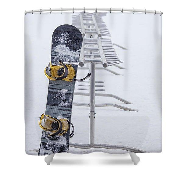 Joyride Shower Curtain by Evelina Kremsdorf