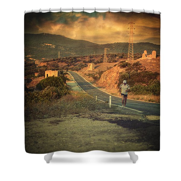 Just A Dream Shower Curtain by Taylan Soyturk