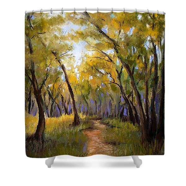 Just before Autumn Shower Curtain by Susan Jenkins