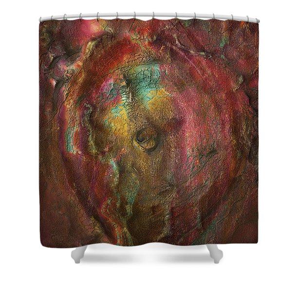 Just Below Shower Curtain by Jack Zulli