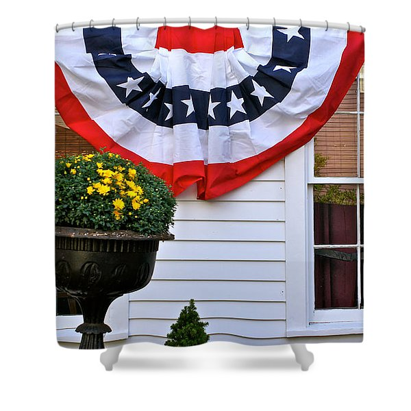 Just Off Commercial Shower Curtain by Ira Shander