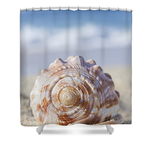 The Heart of Wonder Shower Curtain by Sharon Mau