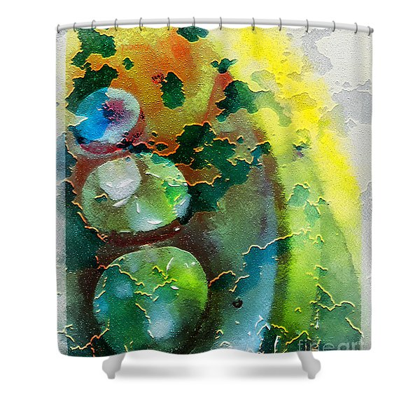 Kernodle On The Half Shell Shower Curtain by Bellesouth Studio