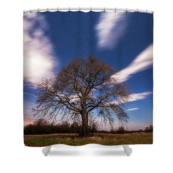 King of the night Shower Curtain by Davorin Mance