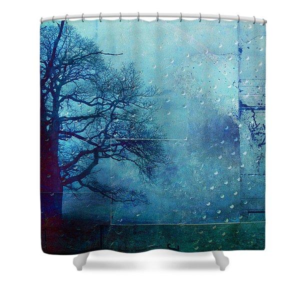 L Arbre de Vie - 99bt03 Shower Curtain by Variance Collections