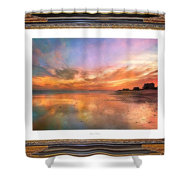 Lasting Moments Shower Curtain by Betsy C  Knapp