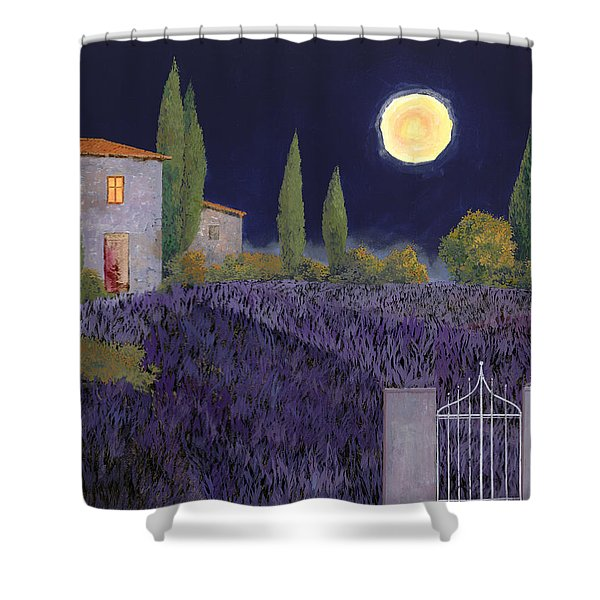 Lavanda Di Notte Shower Curtain by Guido Borelli