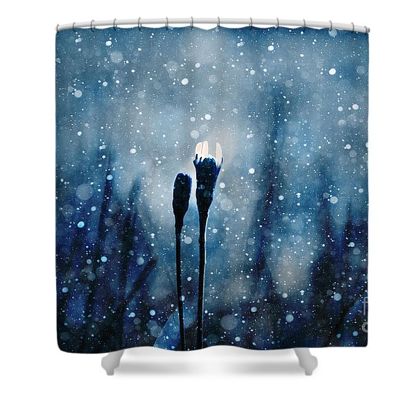 Le Centre De L Attention - S02-01at3 Shower Curtain by Variance Collections