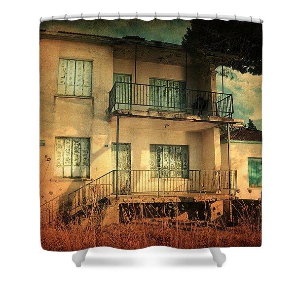 Leaving Home II Shower Curtain by Taylan Soyturk