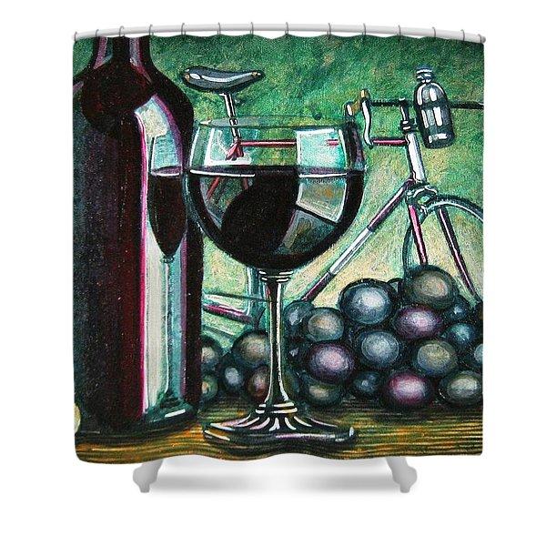 l'eroica still life Shower Curtain by Mark Howard Jones