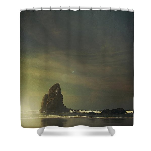 Let Love Shine Through Shower Curtain by Laurie Search