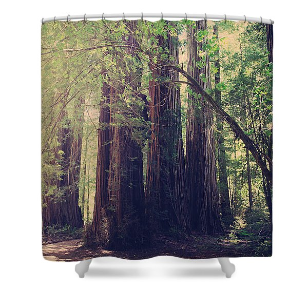 Let Me Be The One Shower Curtain by Laurie Search