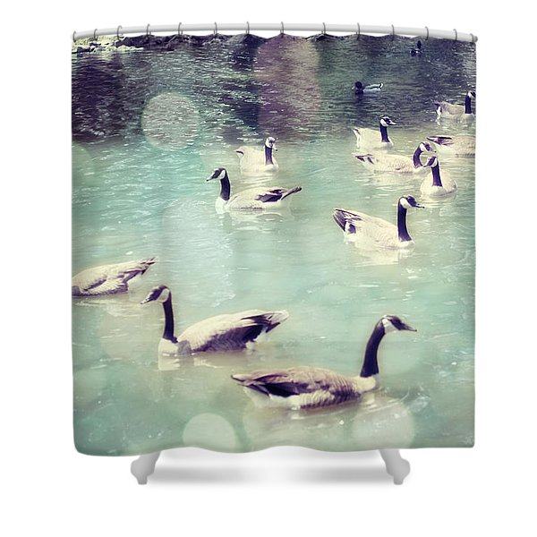 Life Is But a Dream Shower Curtain by Amy Tyler